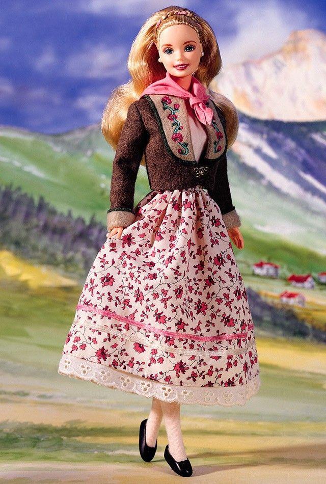 Коллекционная кукла Барби Austrian Barbie Collector Edition 1998