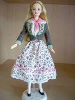 Коллекционная кукла Барби Austrian Barbie Collector Edition 1998, фото 6