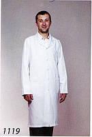 Мужской медицинский халат 1119 (габардин)