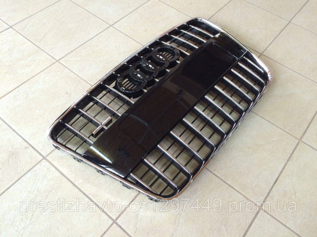 Решетка радиатора на Audi Q7 Quattro