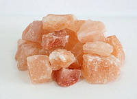 Гималайская розовая соль, фракция 50-80мм, 1кг для бани и сауны