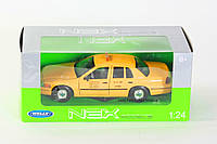 Модель машины 1:24 FORD CROWN VICTORIA (TAXI) WELLY
