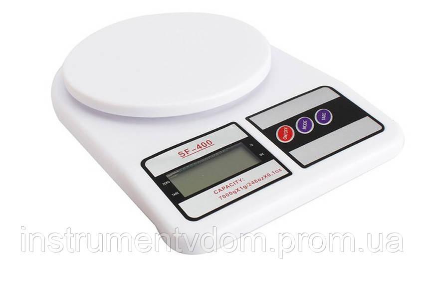 Весы кухонные электронные Electronic Kitchen Scale SF-400 (до 7 кг)