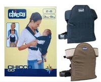 Рюкзак-кенгуру Chicco BT-BC-0003 (коричневый, синий), фото 1