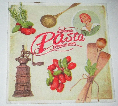 Салфетки для декупажа Pasta