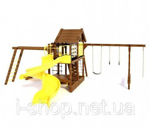 Игровой комплекс (без крыши и качель) Ранчо 3 Inter Atletika 801.2Б