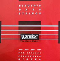 Струны WARWICK 46200 NICKEL ELECTRIC BASS M4 (45-105)