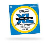 Струны D`ADDARIO EXL125 XL SUPER TOP / REGULAR BOTTOM (09-46)