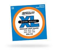 Струны D`ADDARIO EXL110 XL REGULAR LIGHT (10-46)