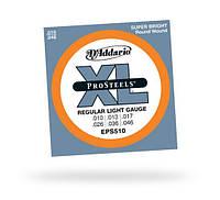 Струны D`ADDARIO EPS510 XL PRO STEELS REGULAR LIGHT 10-46