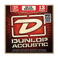 Струны DUNLOP DAB1356 80/20 BRONZE MEDIUM (13-56)