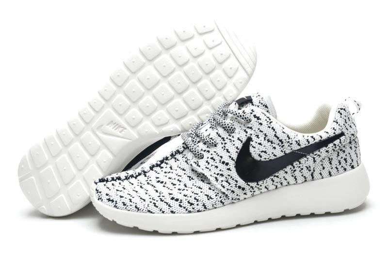 db45ebaa Мужские кроссовки Nike Roshe Run Flyknit Turtle серые - Интернет магазин  обуви Shoes-Mania в