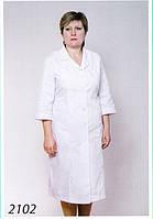 Медицинский халат 2102 (батист.)