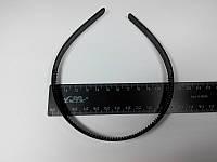 Обруч для волос черный 12 мм