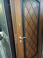 """Двери входные Модель """"Норд"""" (дуб бронза, патина)"""