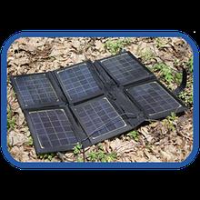 Солнечные (складные) зарядные устройства 20 Вт - KVAZAR KV-20PM