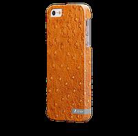 Чехол-накладка для iPhone 5/5S Кожаный