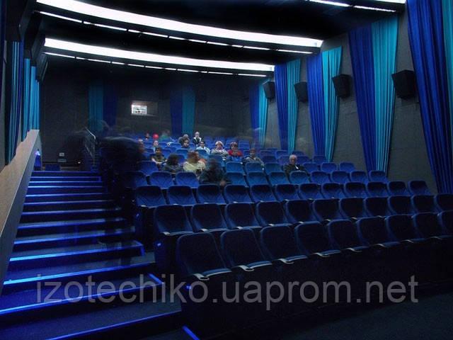 Вентиляция культурно-зрелищных учреждений (кино, театров, клубов, домов культуры)