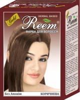 Краска для волос коричневая серия Reem Gold, 6*10г