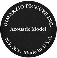 Звукосниматель для акустической гитары DIMARZIO DP130BK ACOUSTIC MODEL