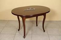 Стол обеденный Вена-2 (орех темный)