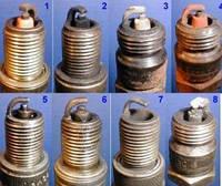 Як оприділити стан двигуна по свічках запалювання?