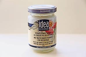 Лак Идея Idea Maimeri (Италия) стекловидный,матовый,для декупажа,эпоксидных смол; пробник 17мл