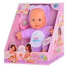 Кукла Миша Веселая погремушка (5234)