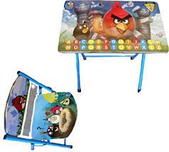 """Столик со стульчиком  """"Angry Birds"""""""