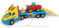 Игрушечная машинка Тягач-эвакуатор спецтехники серии Super Truck Wader (36520)