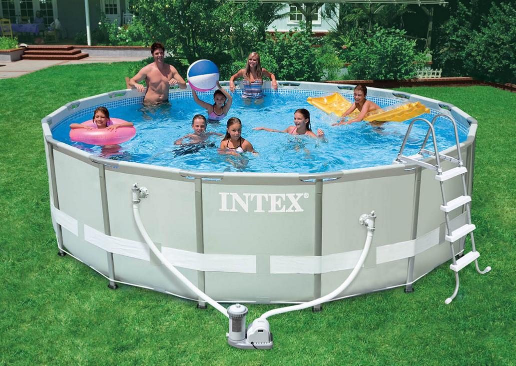 Каркасный бассейн Intex 28326 (54470) с хлорогенератором
