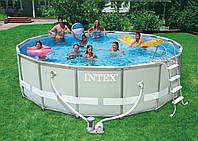 Каркасный бассейн Intex 28326 (54470) с хлорогенератором, фото 1