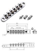 Бридж для электрогитары PAXPHIL BM025 (CR)