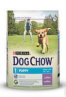 Сухой корм для щенков Dog Chow (Дог Чау) Puppy с ягненком 2,5 кг