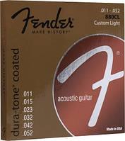 Струны FENDER 880CL 80/20 COATED 11-52