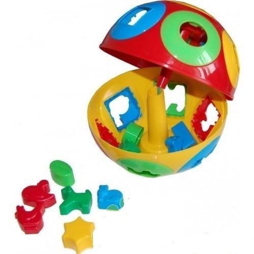 Сортер Куб Умный малыш Колобок (2926)