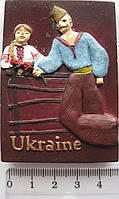 Магнит керамика козак  Украины