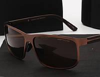 Солнцезащитные очки в стиле Porsche Design  (p-8584) brown
