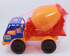 Игрушечная машинка Бетономешалка Орион (099)