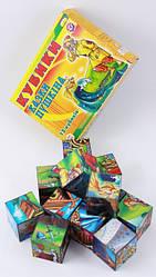 Детские кубики пластмассовые Сказки Пушкина (0281)