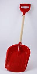 Детская лопатка с деревянной ручкой маленькая Интелком (2896)