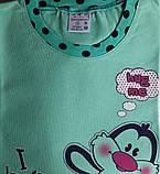 Пижама для девочки №85164 (капри), фото 2