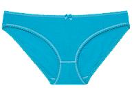 """Трусики мини бикини женские """"Ego"""" KLW 1300 Must Have цвет голубой размер S, фото 1"""