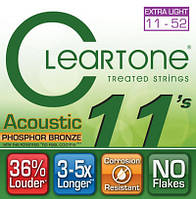 Струны CLEARTONE 7411 ACOUSTIC PHOSPHOR BRONZE EXTRA LIGHT 11-52