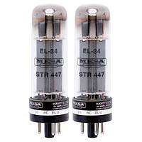 Лампа для усилителя MESA BOOGIE EL34 STR 447 VACUUM TUBE DUET