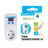 Терморегулятор TESSLA TRTime с таймером и счетчиком рабочих часов, фото 4
