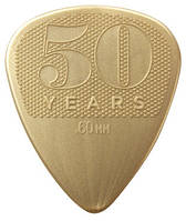 Медиатор DUNLOP 442P.60 50th ANNIVERSARY GOLD NYLON PLAYER'S PACK 0.60
