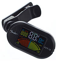 Тюнер FENDER FCT-012 COLOUR CLIP-ON TUNER