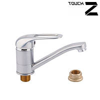 Смеситель кухонный Touch-Z Cosmos Satin-003m st 40мм
