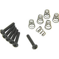 Набор для крепления синглов DIMARZIO FH1310BK Single-coil Mounting Hardware Kit (Black)
